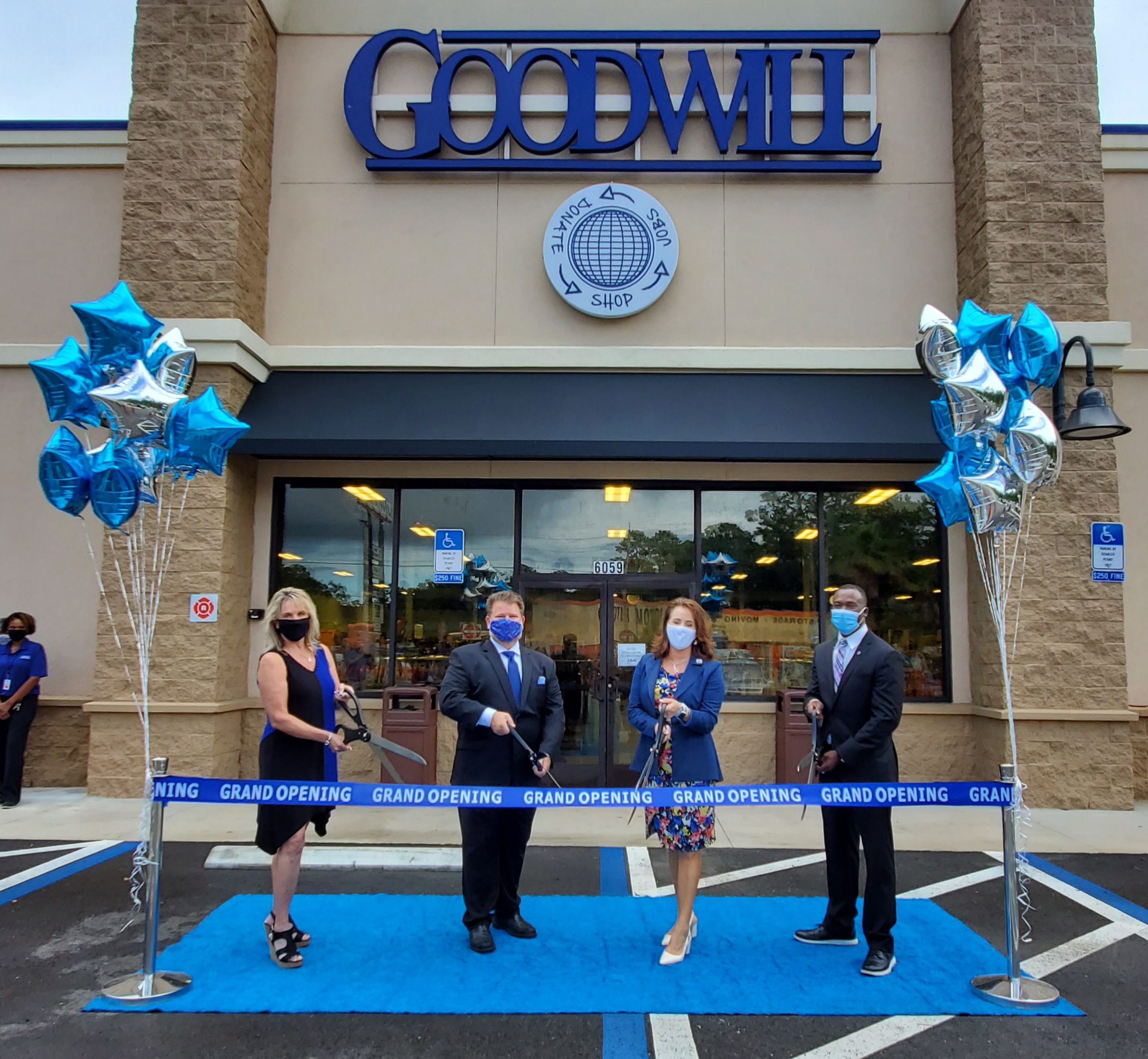 CITY COUNCILMAN TERRANCE FREEMAN WELCOMES  GOODWILL'S NEWEST STORE TO JACKSONVILLE'S WESTSIDE