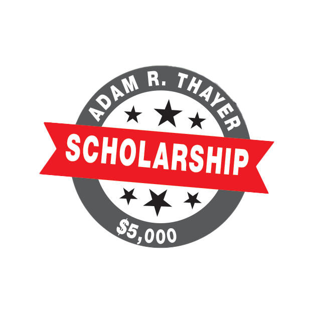 Adam R. Thayer Scholarship Logo