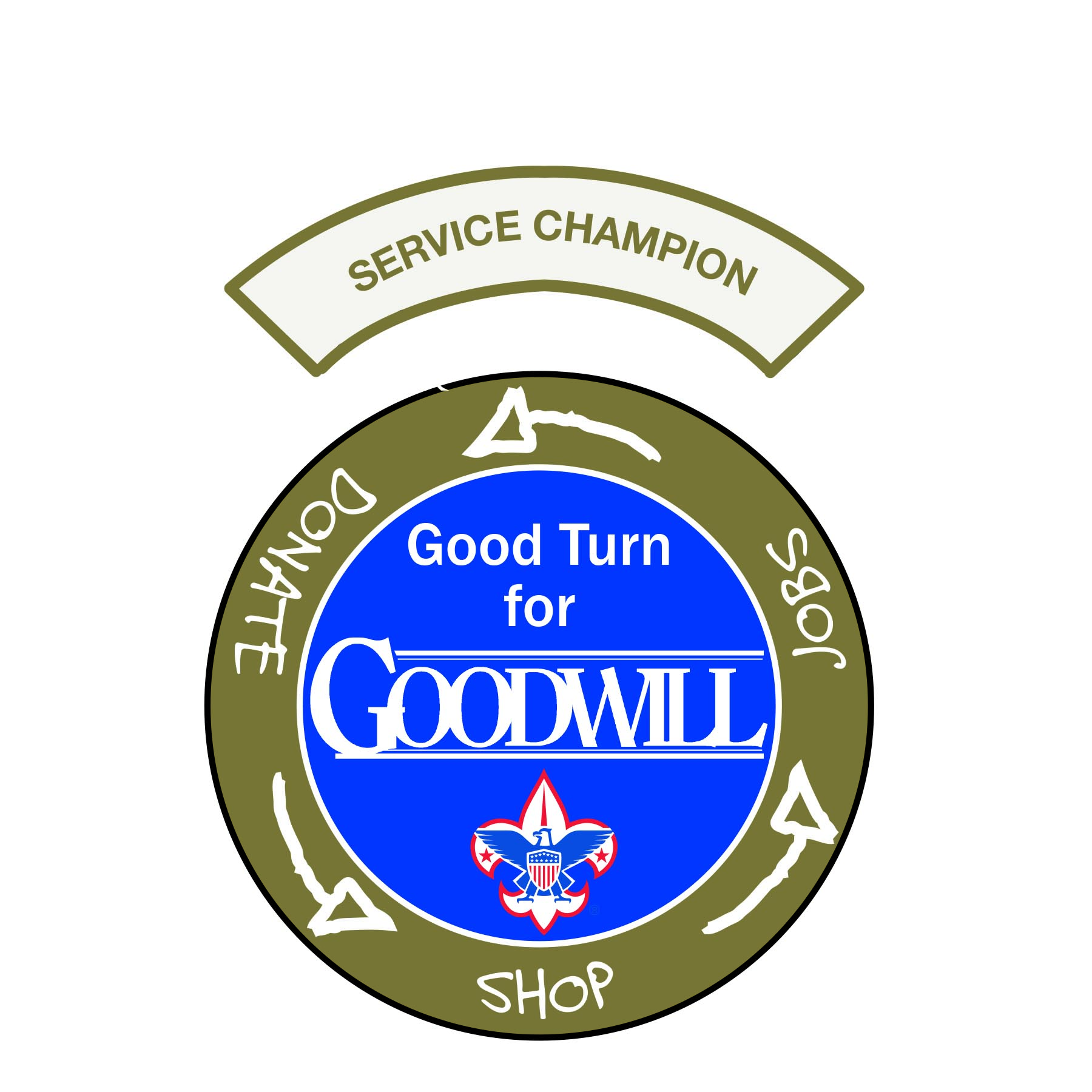 Boy Scouts Good Turn for Goodwill